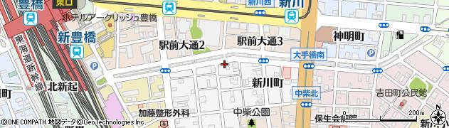 川村商事株式会社本社周辺の地図