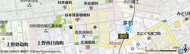 三重県伊賀市上野池町周辺の地図