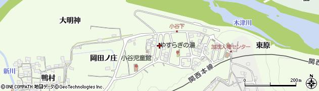 京都府木津川市加茂町北(広)周辺の地図