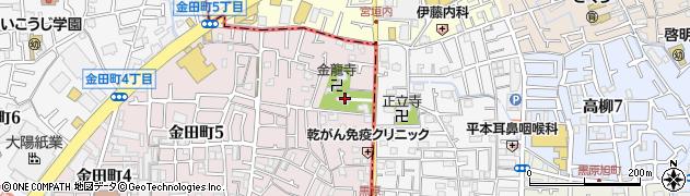 津嶋部神社周辺の地図
