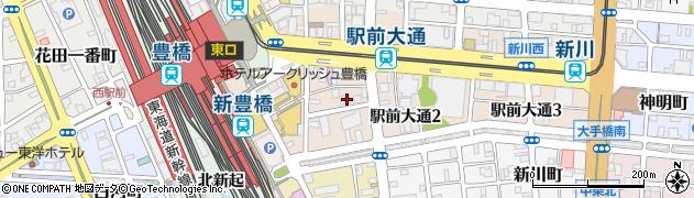 ラ・メール周辺の地図