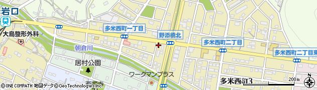 中華料理・和楽周辺の地図