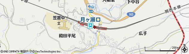 京都府相楽郡南山城村周辺の地図