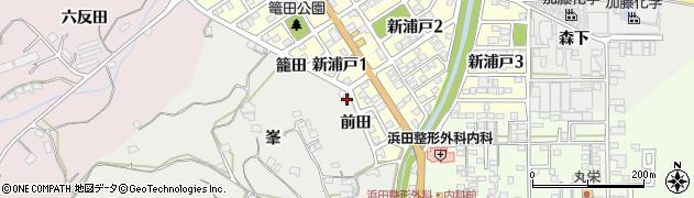 愛知県美浜町(知多郡)浦戸(前田)周辺の地図