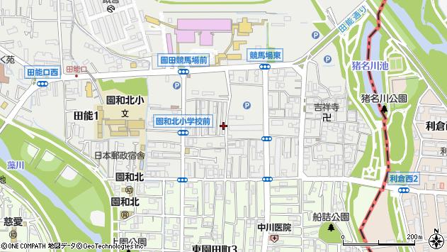 〒661-0952 兵庫県尼崎市椎堂の地図
