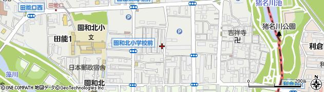 兵庫県尼崎市椎堂1丁目周辺の地図