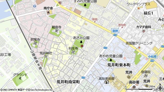 〒676-0005 兵庫県高砂市荒井町御旅の地図