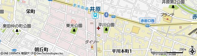 房周辺の地図