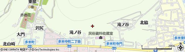 愛知県豊橋市多米町周辺の地図