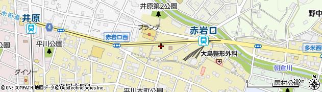 ポ・ト・フ周辺の地図