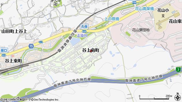 〒651-1244 兵庫県神戸市北区谷上南町の地図