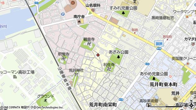 〒676-0007 兵庫県高砂市荒井町中町の地図