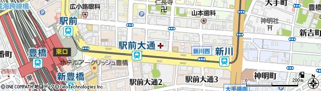 千代の里丸栄店周辺の地図