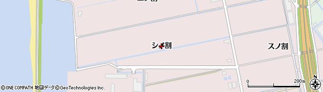 愛知県豊橋市神野新田町(シノ割)周辺の地図
