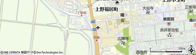 三重県伊賀市上野徳居町周辺の地図