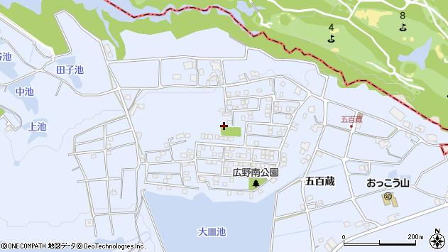 〒651-2303 兵庫県神戸市西区神出町五百蔵の地図