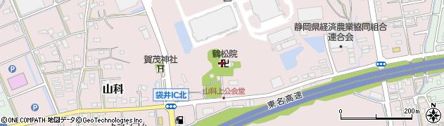 鶴松院周辺の地図