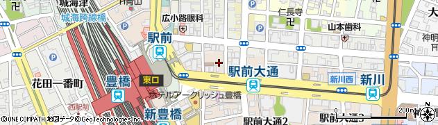 てんとうむし予約専用周辺の地図