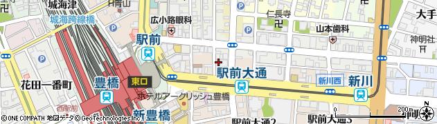 タップブリティッシュパブ周辺の地図