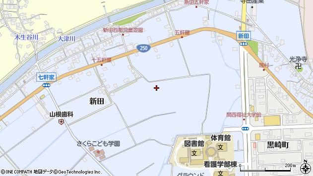 〒678-0255 兵庫県赤穂市新田の地図