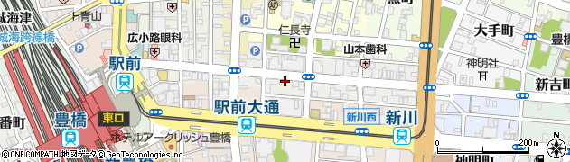 鯛松周辺の地図