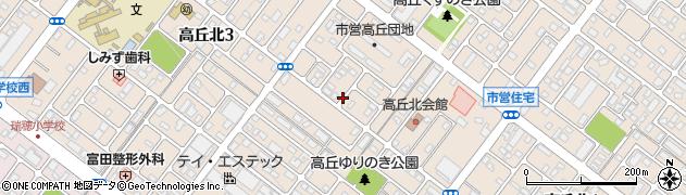 静岡県浜松市中区高丘北周辺の地図