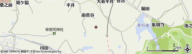 愛知県美浜町(知多郡)野間(南菅谷)周辺の地図