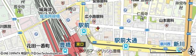 A.C.C周辺の地図