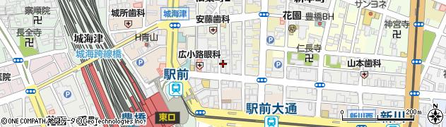 ざんび周辺の地図