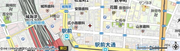 古賀周辺の地図
