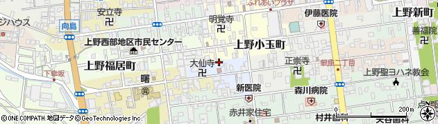 三重県伊賀市上野三之西町周辺の地図