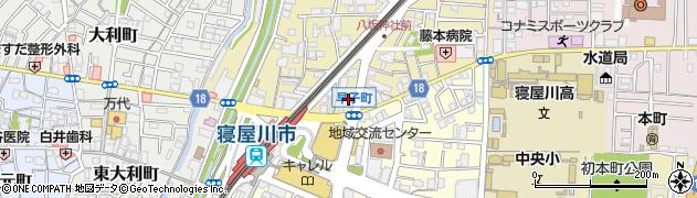 エスリード寝屋川駅前第2周辺の地図