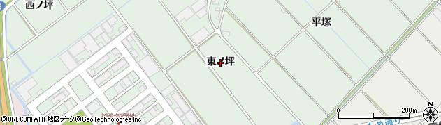 愛知県豊橋市富久縞町(東ノ坪)周辺の地図