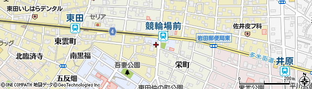 吉野屋周辺の地図