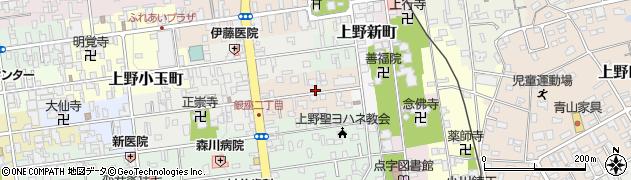 三重県伊賀市上野相生町周辺の地図