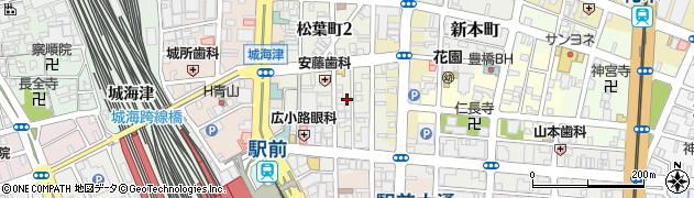 エールライン周辺の地図
