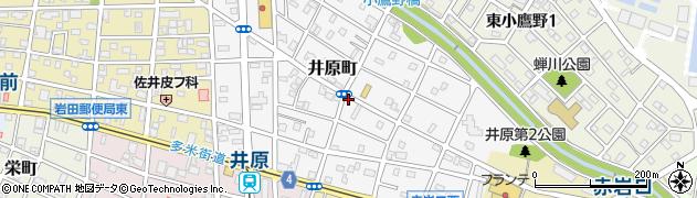 愛知県豊橋市井原町周辺の地図