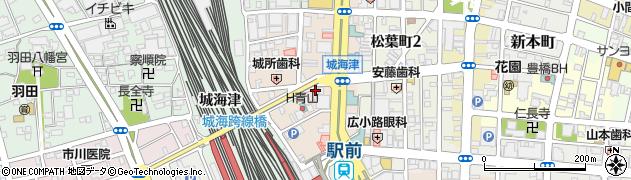 魚正商店周辺の地図