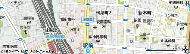 IROHA 本店周辺の地図