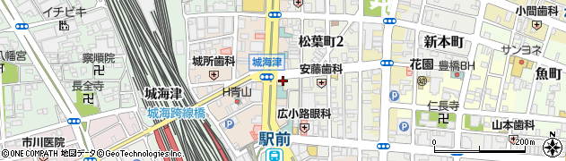楽酒楽食・TARO周辺の地図