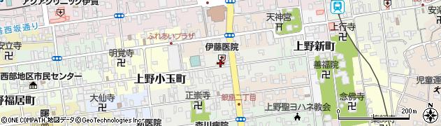 三重県伊賀市上野魚町周辺の地図