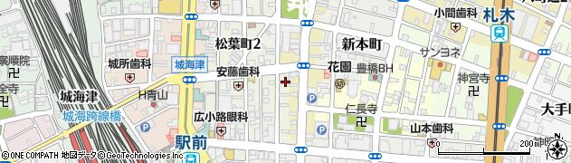 スイートルーム周辺の地図