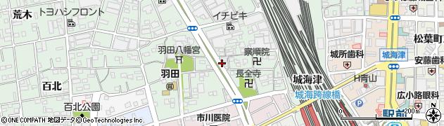 愛知県豊橋市花田町(斉藤)周辺の地図