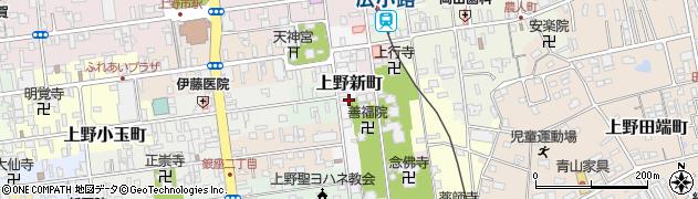 三重県伊賀市上野新町周辺の地図