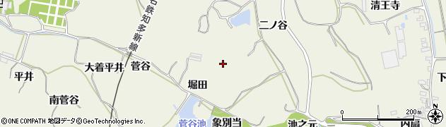 愛知県美浜町(知多郡)野間(堀田)周辺の地図