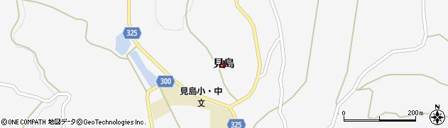 山口県萩市見島周辺の地図