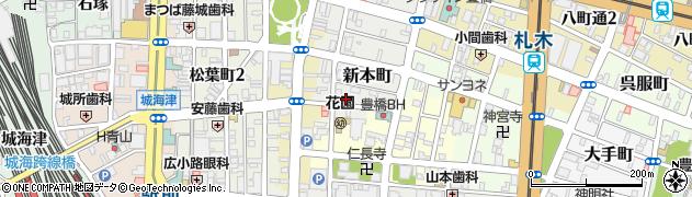 梓周辺の地図