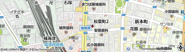 ステーキハウスBerry周辺の地図