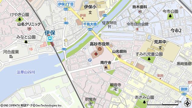 〒676-0000 兵庫県高砂市(以下に掲載がない場合)の地図