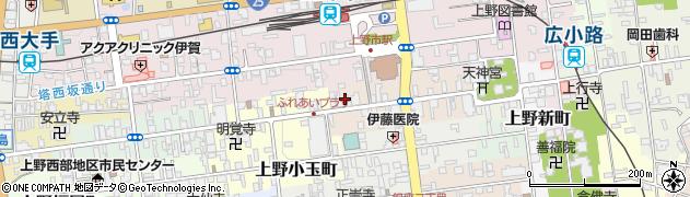 画三子周辺の地図